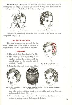 Vintage Finger Wave Instructions Tutorial