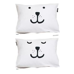 Animal face pillow case by Tellkiddo