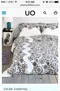 My actual dorm bedding!