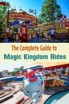 Disney World vacation planning -- Guide to Magic Kingdom Rides