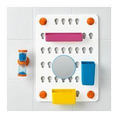 LÅDDAN 6-piece storage board set, with suction cups, assorted colors - - - IKEA