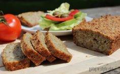 Chleb bezglutenowy ze słonecznika i mąki ryżowej