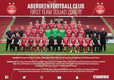 Aberdeen FC First Team Squad 2016/17