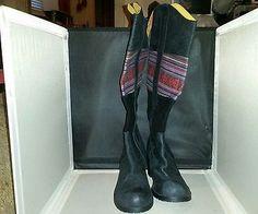 NWOB BC Tall Black Boots Size 8