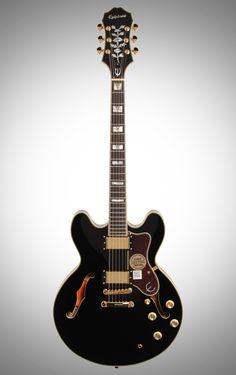 Epiphone Sheraton-II PRO Electric Guitar, Ebony