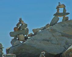 Rock Cairns by Roger Lynn, via Flickr