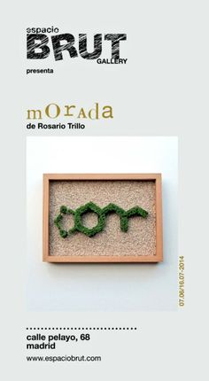 MORADA by Rosario Trillo in espacioBRUT Frame, Home Decor, Art, Rosaries, Picture Frame, Art Background, Decoration Home, Room Decor, Kunst