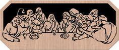 Lord's Supper - Scrollsaw Pattern