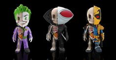 Jason Freeny Dissects The Injustice League for Mighty Jaxx's XXRay Series!