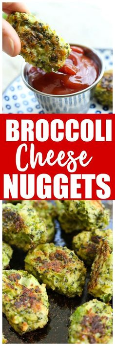 Broccoli cheese bites nuggets recipe   toddler   vegetable   side dish   healthy #foodrecipesforkids