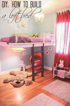 How to build a loft bed and win your daughters heart