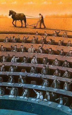 يريد البشر عيشة كريمة، وافرة. لا يهم كل هذه السخافات السياسية، الملهية المضيعة للحقيقة