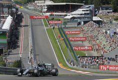 Nico Rosberg nyerte a Belga Nagydíj  első és a második szabadedzését. Friss GP Hírek az Origon!  Fotó: Luca Bruno – MTI/AP #spa #nico #nicorosberg #formula1 #spagp #mercedesgp #mercedes