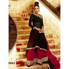 Marvelous Georgette Semi stitched Salwar kamiz Comes with Top-Georgette , Bottom-Georgette, Dupatta-Chiffon