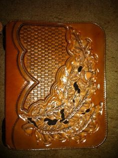 What can i say I like hand tooled leather.