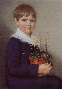 Charles as a young boy. #Darwin.