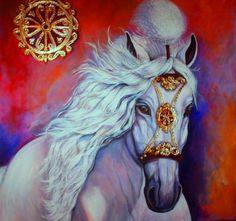 Arabian Horse by Marina Mourão