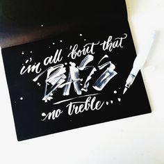 5/10 #10daysofparty #calligrafikas #brushpen