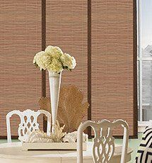 Comfortex 174 Envision 174 Panel Track Blinds Blackout Window