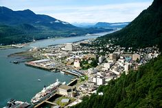 You can't see Russia from Juneau, but if you look really, really closely, you can see my old house in this photo!