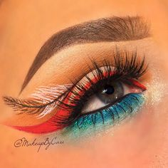 Pocahontas Eye Makeup Art By makeupbycari Disney Pocahontas, Costume Pocahontas, Pocahontas Makeup, Disney Dress Up, Pocahontas Halloween, Mermaid Costumes, Couple Halloween, Disney Princesses, Walt Disney
