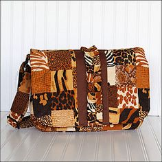 Messenger bag I made my youngest daughter.