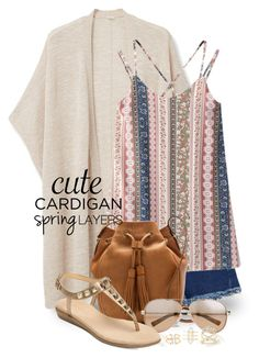 """""""Cute Spring Cardis 1431"""" by boxthoughts ❤ liked on Polyvore featuring MANGO, Chicnova Fashion, J.Crew, Valentino, Aerosoles, Charlotte Russe, cutecardigan and springlayers"""