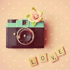 camera, love, lovely, pink