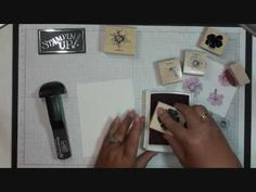 Stamping 411~ 2 Step Stamping  with Dawn. (MM: I know how to do this, but thought I'd post for those that don't)