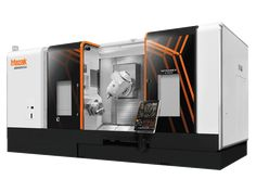 Mazak's INTEGREX II full combination turning center and machining center is the manufacturing industry's most advanced CNC Multi-Tasking machine. Machine Tools, Cnc Machine, Industrial Machinery, Machine Design, Industrial Design, Locker Storage, Sheet Metal, Tech Gadgets, Technology