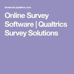 Online Survey Software | Qualtrics Survey Solutions