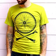 Here is an awesome video tutorial on making your very own screen-print t-shirt with your own design.