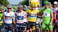 BikeRadar runs through the meanings behind the yellow, green, polka dot and white jersey colours, and who we think is in the running to win them. #tourdefrance #tdf2015 #roadcycling