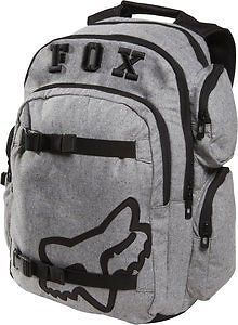 c7cf55d7eb8 Fox Racing Step Up 2 Backpack Charcoal Gray Black Fox Rider