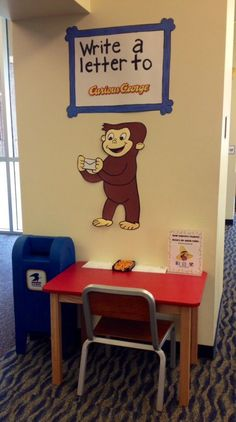 "Frisco Library set up a ""Write a Letter To"" station to boost writing and storytelling skills"