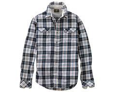 Men's Long Sleeve Warner River Plaid Shirt - Timberland