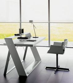 Futuristic office desk Sci Fi Would Like To Have This Futuristic Desk Modern Home Office Desk Desk Office Contemporary Pinterest 38 Best Futuristic Office Images Futuristic Interior Futuristic