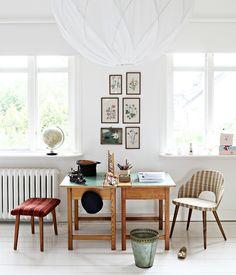 A creative workspace.