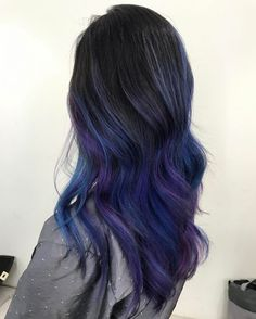 Blue And Purple Highlights Purple Highlights In 2019