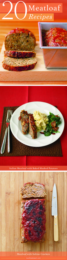 20 Meatloaf Recipes | Martha Stewart Living