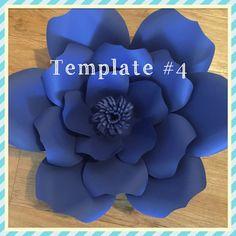 Paper Flower Template # 4