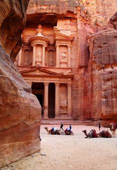 Everyone must put Petra, Jordan on their bucket list.  Nothing short of amazing.