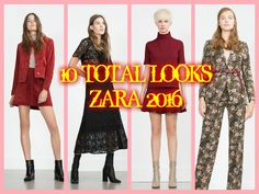 10 TOTAL LOOKS ZARA 2016