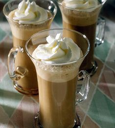 Chocolate Cappuccino For sweet stirrers, prop in peppermint sticks. This homemade treat is far less expensive than in a coffee shop.