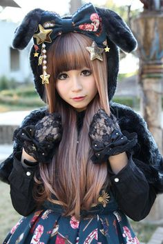lolita. Her hair is awesome!