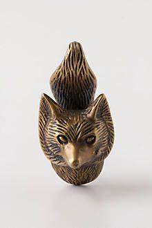 Through The Woods Knob, Fox - anthropologie.com