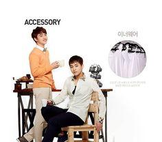 EXO Kyung Soo & Xiu Min