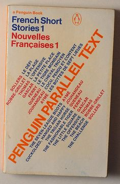 Penguin Parallel Text: French Short Stories 1 by alexisorloff, via Flickr