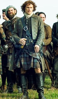 Jamie Fraser from Outlander. Sam Heughan Outlander, Outlander Quotes, Outlander Season 2, Outlander Book Series, Outlander Casting, Jamie From Outlander, Watch Outlander, Diana Gabaldon Outlander, Jamie Fraser