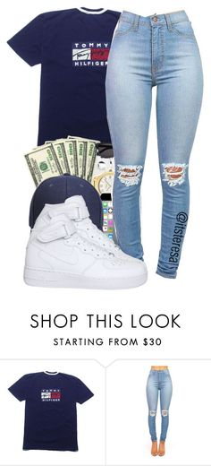 nike shoes Untitled #144 by itsteresa ❤ liked on Polyvore featuring NIKE